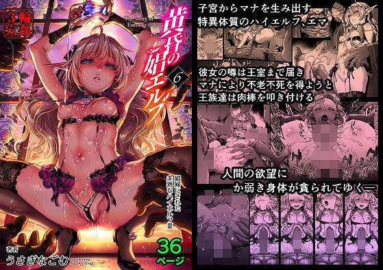 黄昏の娼エルフ6-娼婦にされた未熟なハイエルフ3 同人 無料画像