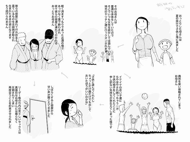 母喰い2 ヤリチン旅行編(上) ~おっとりお母さんはその旅館で年下ヤリチンに何度も抱かれて女を出した~1